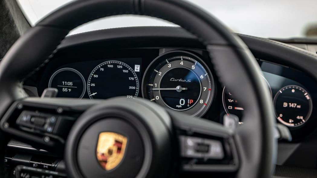 2020 Porsche 911 Turbo S instrument panel