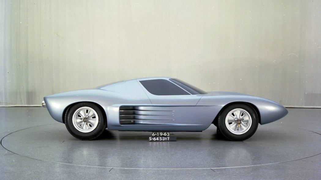Original Ford GT40 clay model