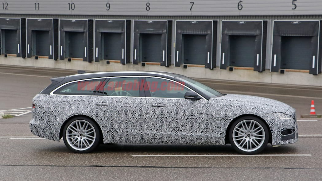 2021 jaguar xf sportbrake and xf sedan spied sporting