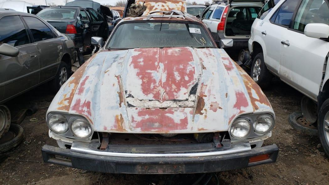 16 - 1984 Jaguar XJ-S in Colorado Junkyard - photo by Murilee Martin