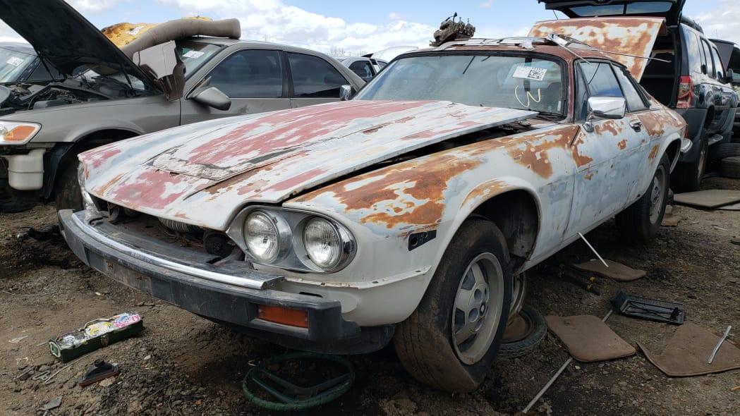 17 - 1984 Jaguar XJ-S in Colorado Junkyard - photo by Murilee Martin