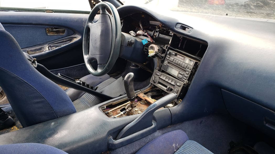 04 - 1991 Toyota MR2 in Colorado Junkyard - photo by Murilee Martin