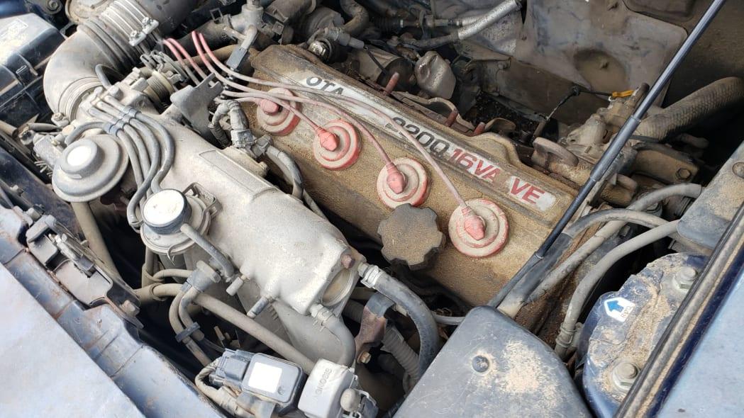 07 - 1991 Toyota MR2 in Colorado Junkyard - photo by Murilee Martin