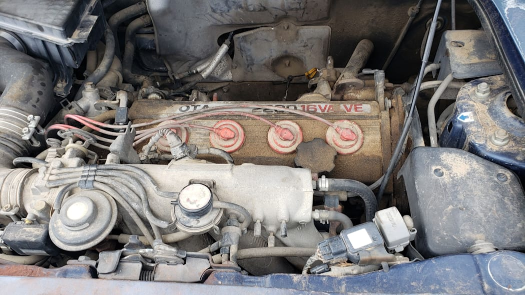 10 - 1991 Toyota MR2 in Colorado Junkyard - photo by Murilee Martin