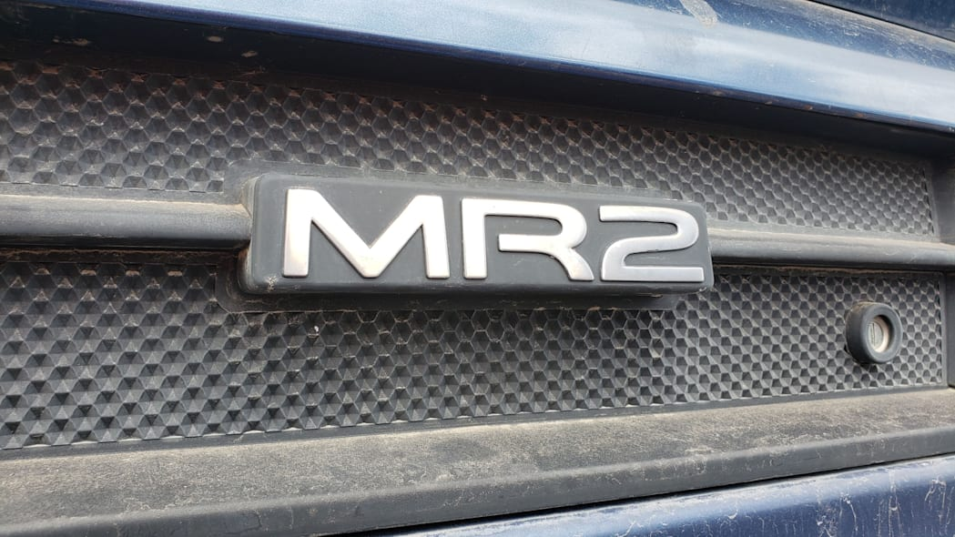 14 - 1991 Toyota MR2 in Colorado Junkyard - photo by Murilee Martin