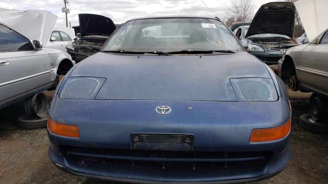 30 - 1991 Toyota MR2 in Colorado Junkyard - photo by Murilee Martin