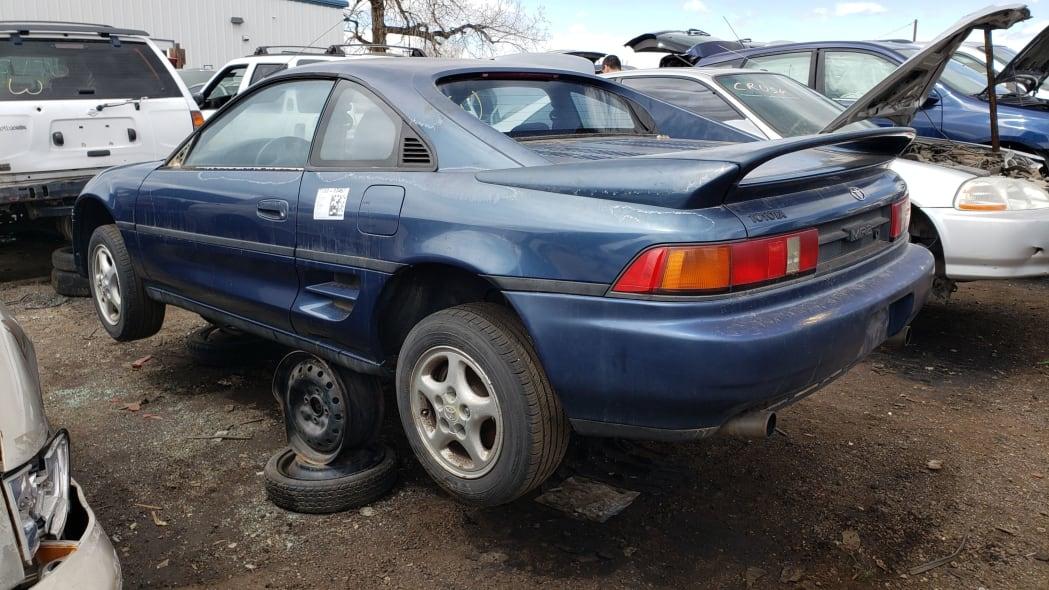 37 - 1991 Toyota MR2 in Colorado Junkyard - photo by Murilee Martin