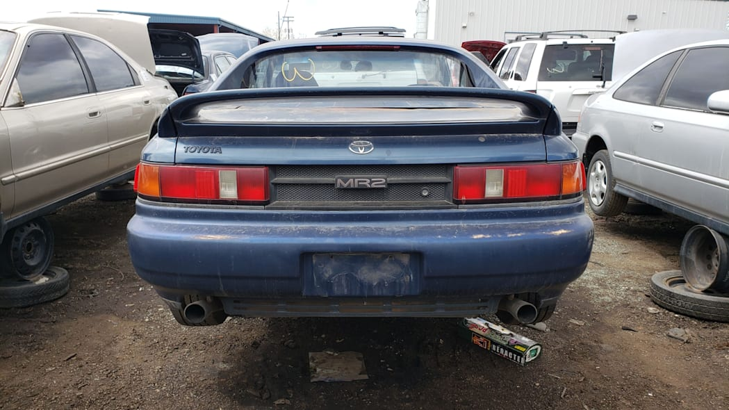 39 - 1991 Toyota MR2 in Colorado Junkyard - photo by Murilee Martin