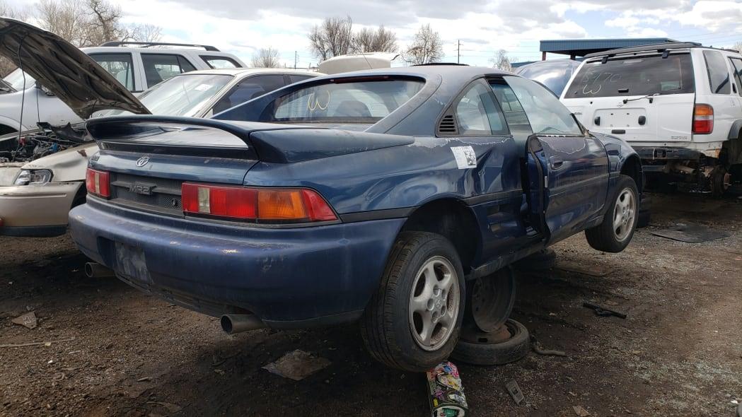 42 - 1991 Toyota MR2 in Colorado Junkyard - photo by Murilee Martin