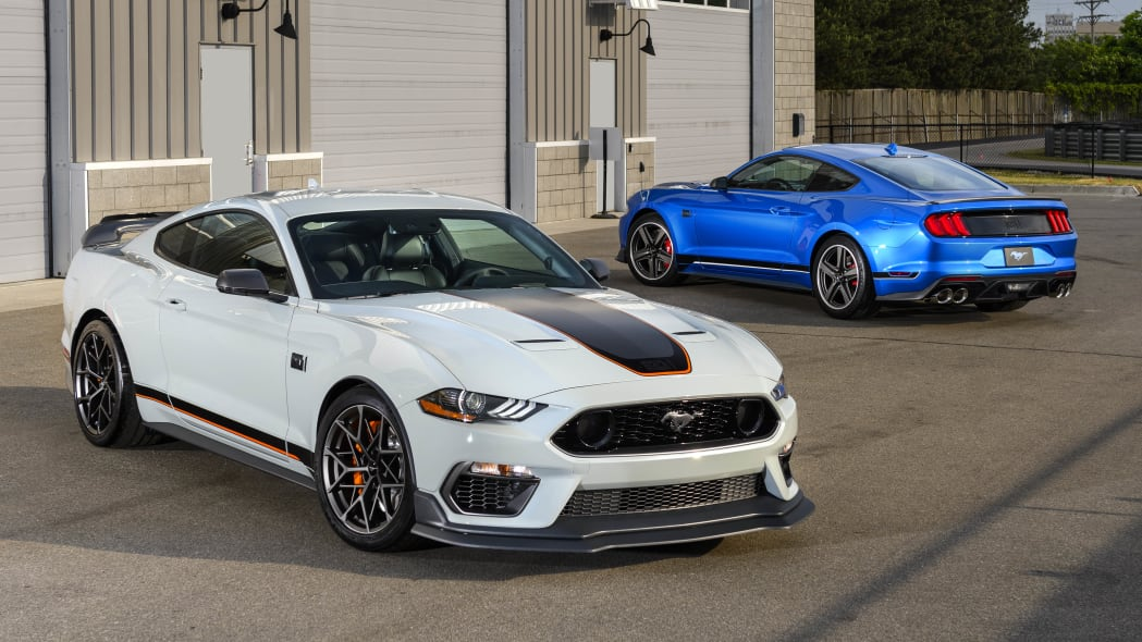 2021 Ford Mustang Mach 1s