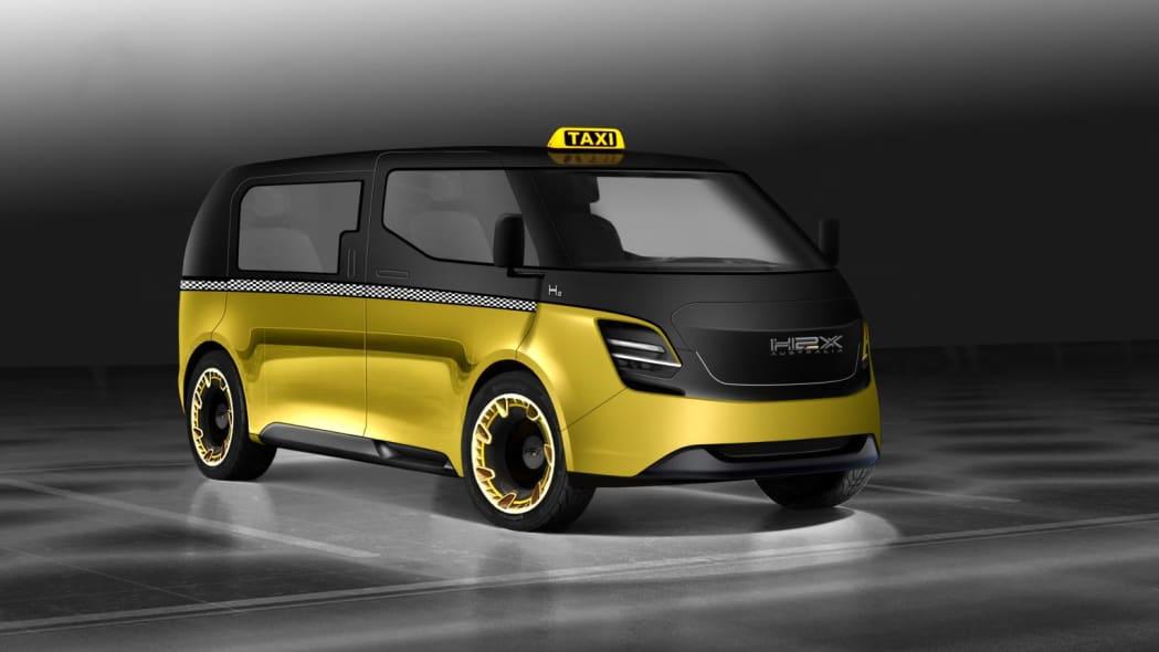 H2X taxi prototype