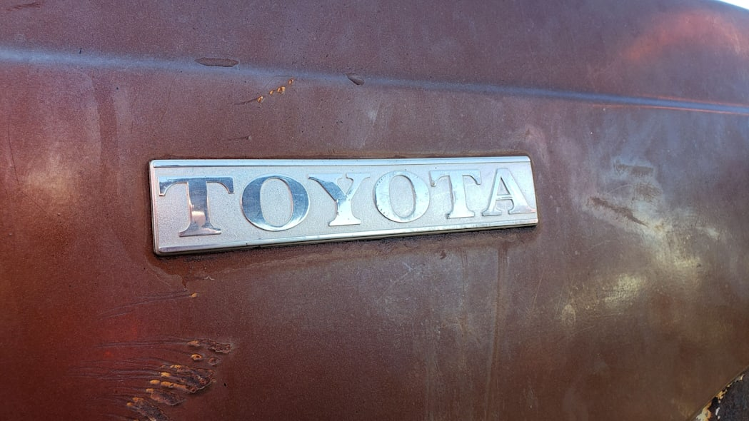 03 - 1978 Toyota Hilux in Colorado Junkyard - photo by Murilee Martin