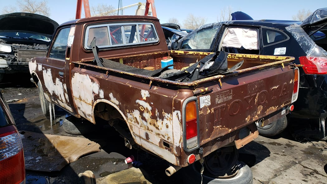 48 - 1978 Toyota Hilux in Colorado Junkyard - photo by Murilee Martin