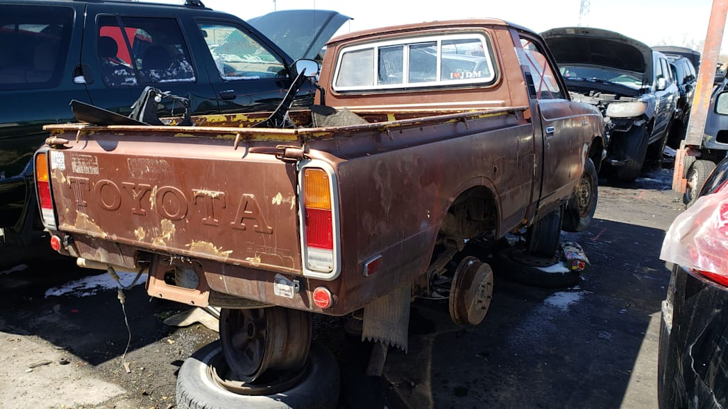 60 - 1978 Toyota Hilux in Colorado Junkyard - photo by Murilee Martin