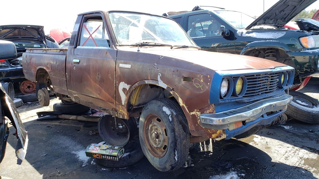 999 - 1978 Toyota Hilux in Colorado Junkyard - photo by Murilee Martin