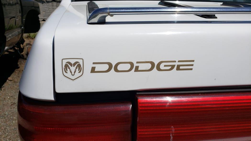 04 - 1994 Dodge Spirit in Colorado Junkyard - photo by Murilee Martin