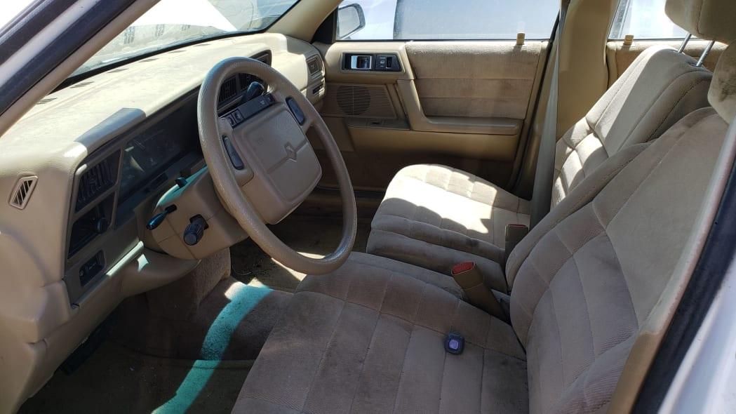 10 - 1994 Dodge Spirit in Colorado Junkyard - photo by Murilee Martin