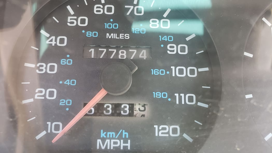 11 - 1994 Dodge Spirit in Colorado Junkyard - photo by Murilee Martin