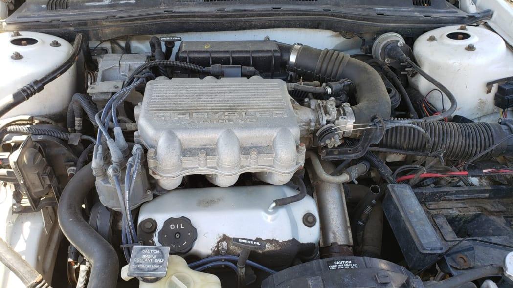 23 - 1994 Dodge Spirit in Colorado Junkyard - photo by Murilee Martin