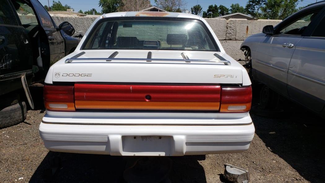 36 - 1994 Dodge Spirit in Colorado Junkyard - photo by Murilee Martin