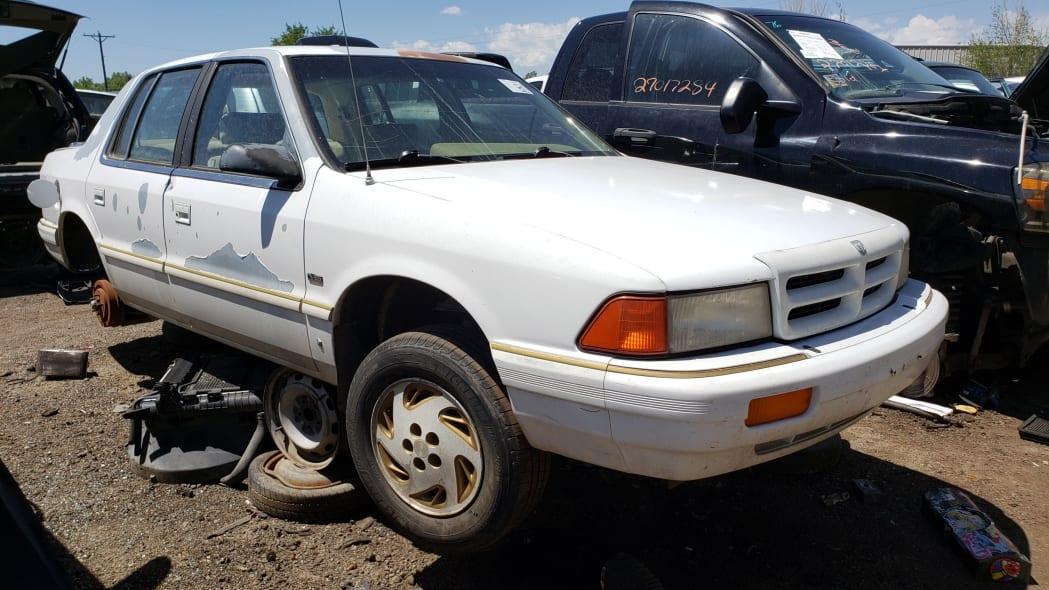 999 - 1994 Dodge Spirit in Colorado Junkyard - photo by Murilee Martin