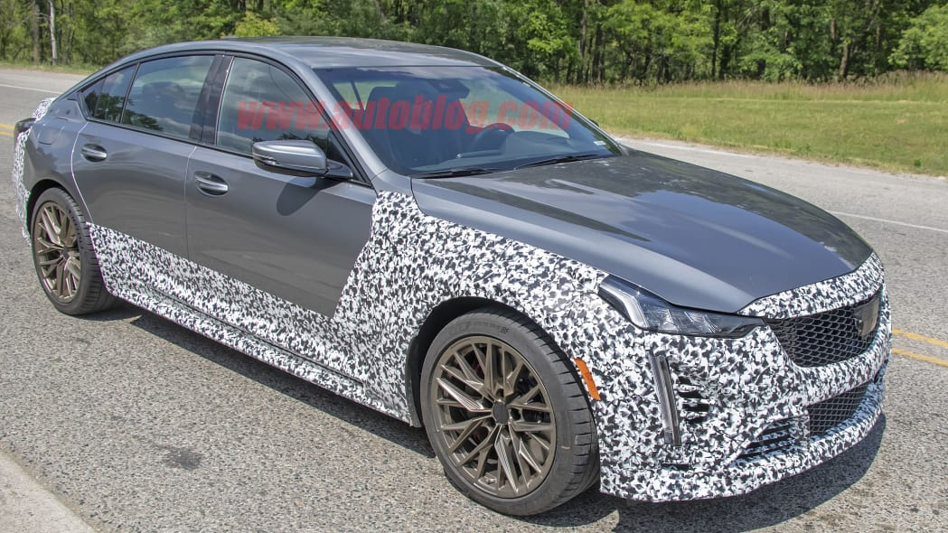 2021 Cadillac CT5-V Blackwing spied