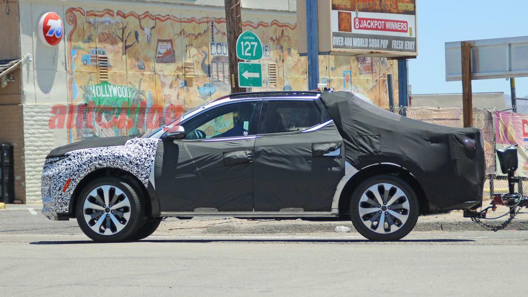 2022 Hyundai Santa Cruz prototype