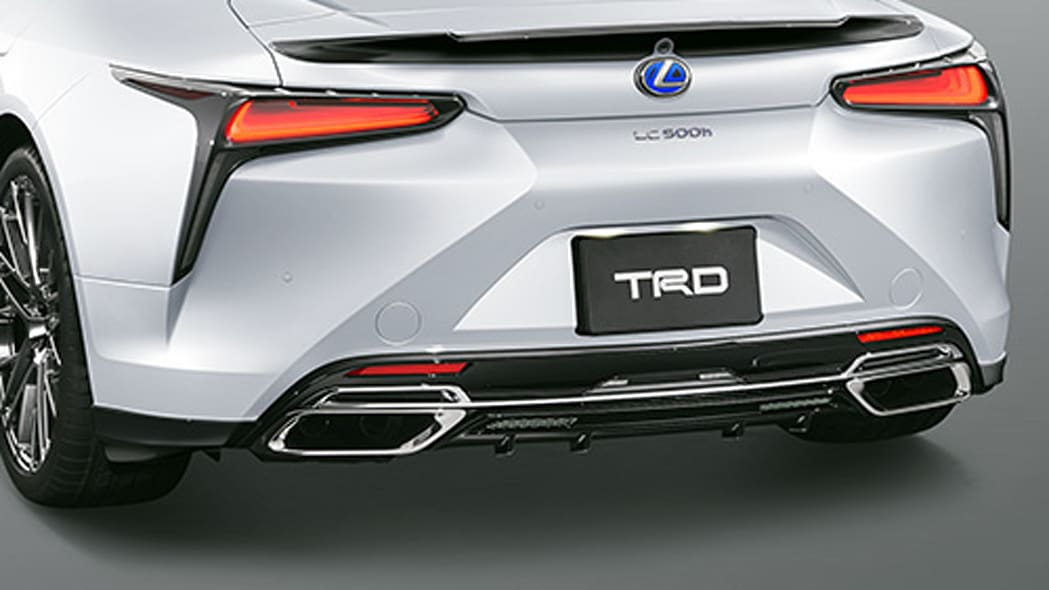 Lexus LC Coupe and Convertible TRD parts