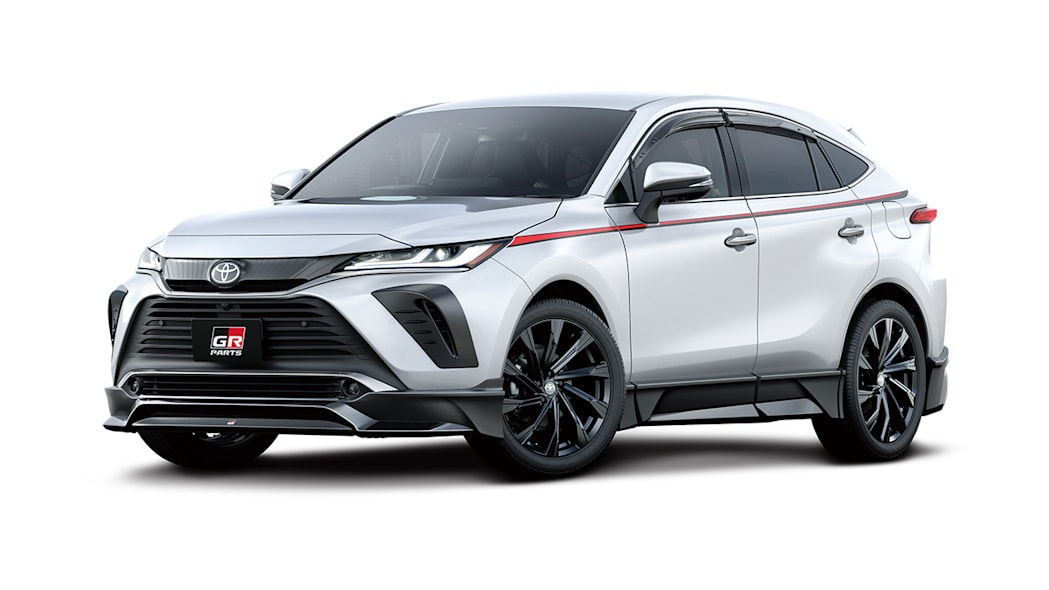 2021 Toyota Harrier/Venza TRD parts