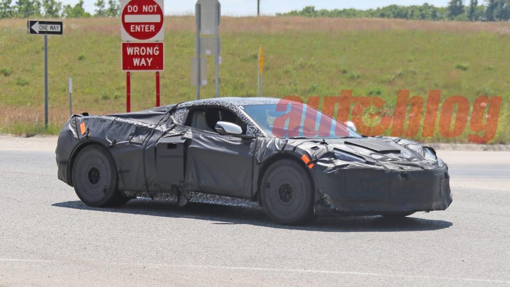 C8 Corvette Z06 spy photo