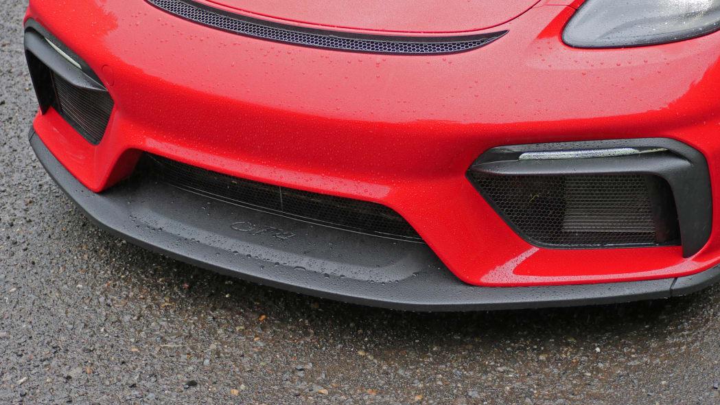 2020 Porsche 718 Cayman GT4 front bumper