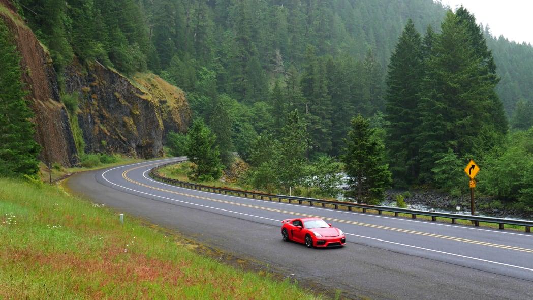 2020 Porsche 718 Cayman GT4 river side far