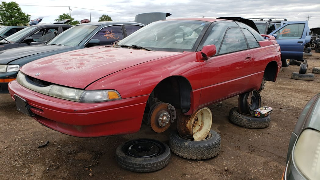 22 - 1994 Subaru SVX in Colorado Junkyard - photo by Murilee Martin