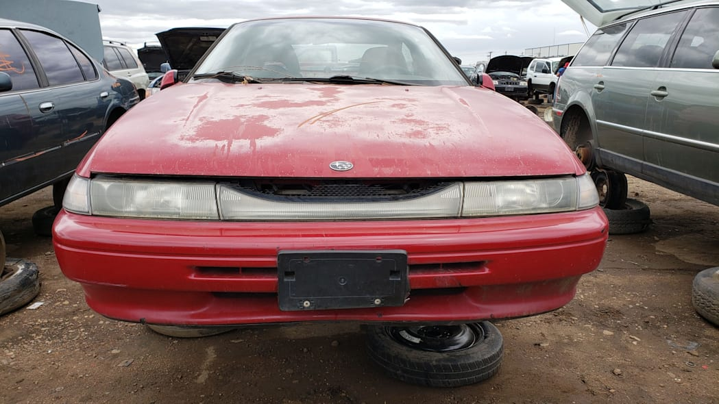 25 - 1994 Subaru SVX in Colorado Junkyard - photo by Murilee Martin