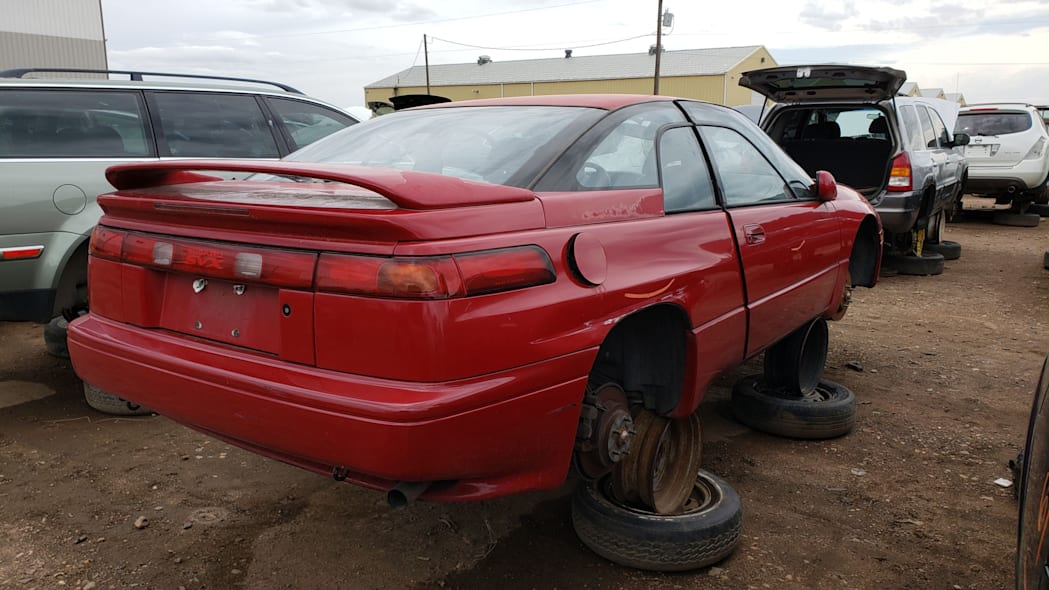 29 - 1994 Subaru SVX in Colorado Junkyard - photo by Murilee Martin