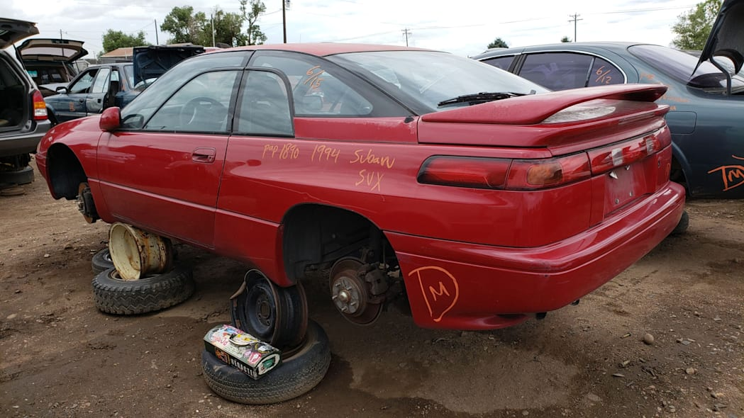 36 - 1994 Subaru SVX in Colorado Junkyard - photo by Murilee Martin