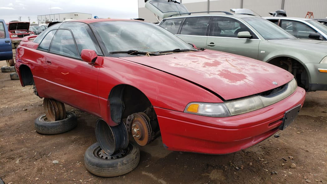 999 - 1994 Subaru SVX in Colorado Junkyard - photo by Murilee Martin