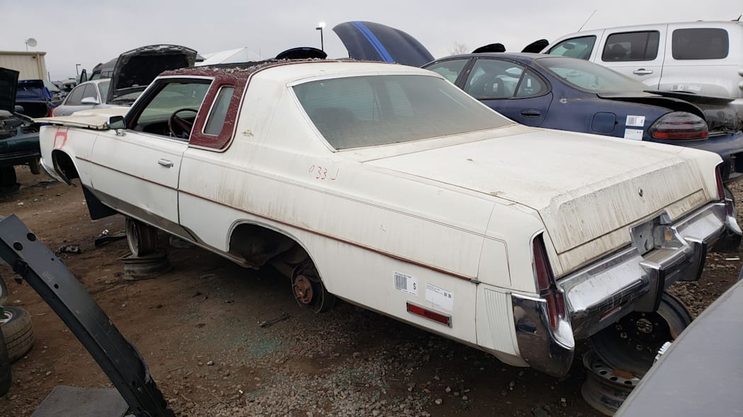 44 - 1976 Chrysler New Yorker in Colorado Junkyard - photo by Murilee Martin