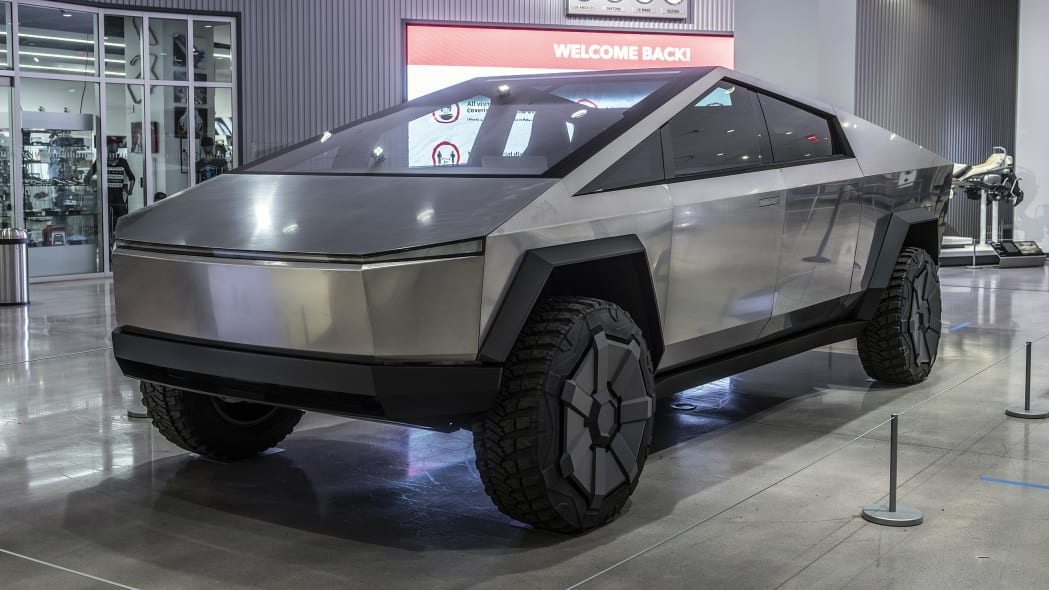 Tesla Cybertruck at the Petersen Museum