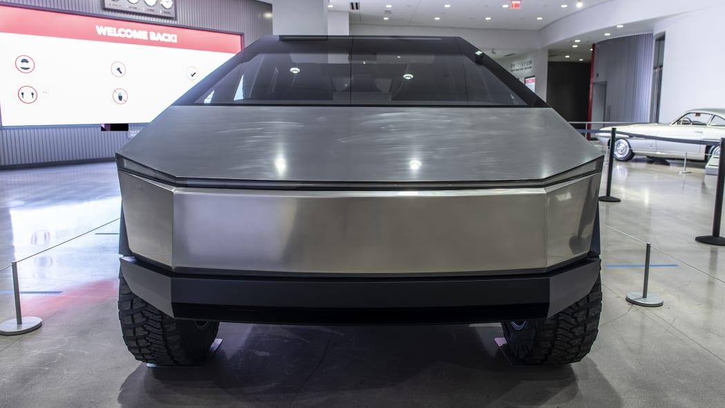Tesla Cybertruck at the Petersen Museum