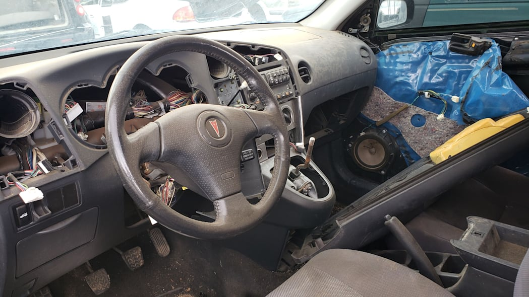 14 - 2004 Pontiac Vibe GT in Colorado Junkyard - photo by Murilee Martin