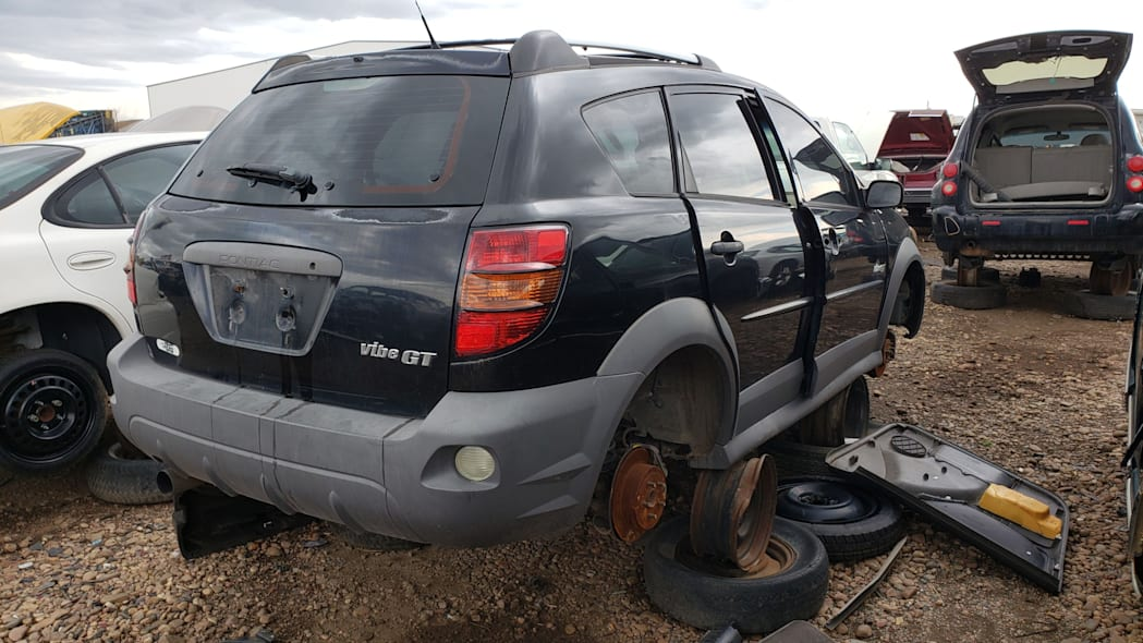 42 - 2004 Pontiac Vibe GT in Colorado Junkyard - photo by Murilee Martin
