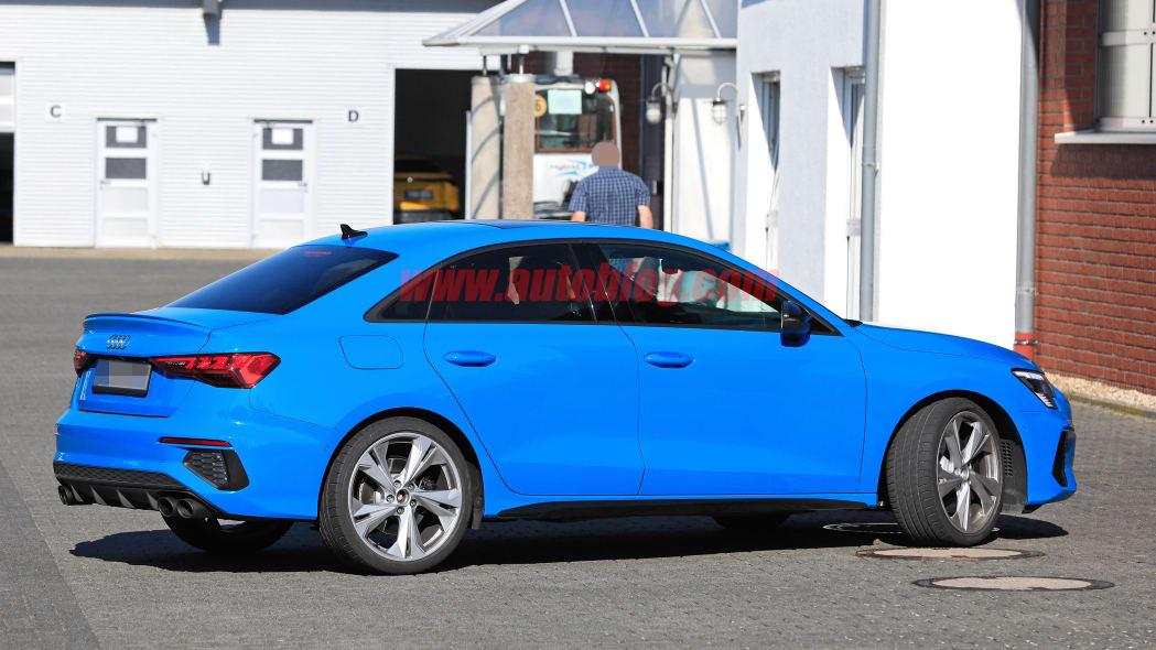2021 Audi S3 spied