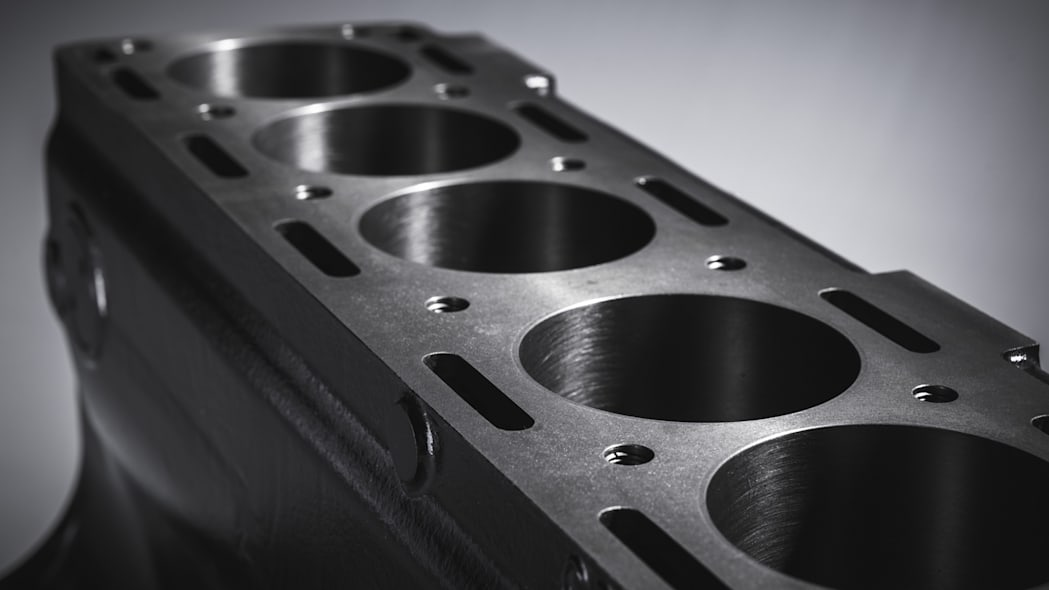 Jaguar 3.8-liter XK engine block