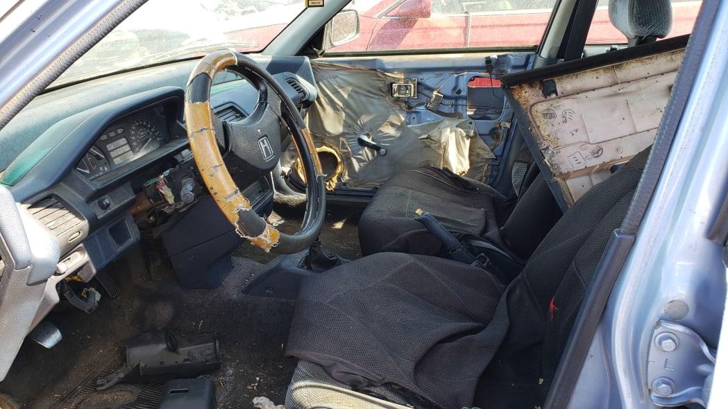12 - 1989 Honda Civic in Colorado Junkyard - photo by Murilee Martin