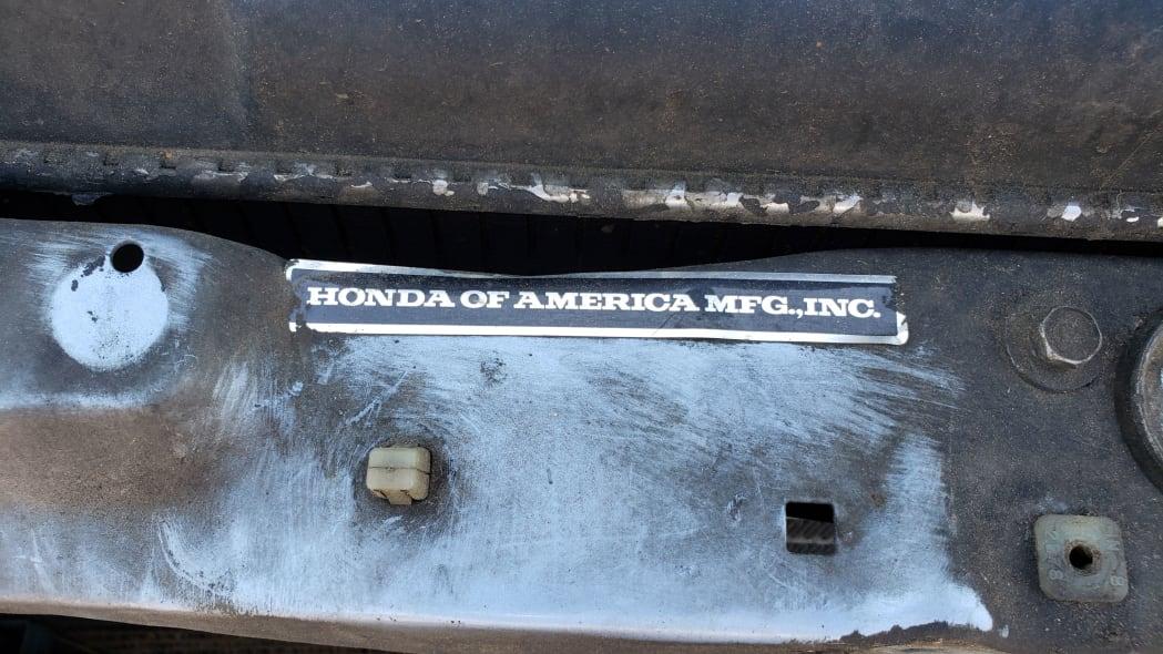 38 - 1989 Honda Civic in Colorado Junkyard - photo by Murilee Martin