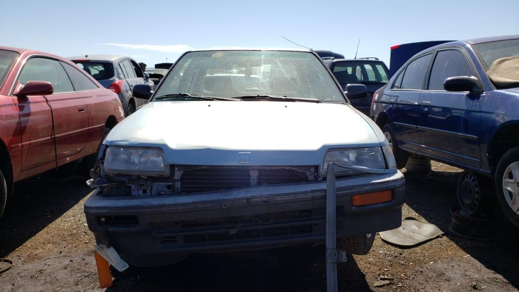 44 - 1989 Honda Civic in Colorado Junkyard - photo by Murilee Martin