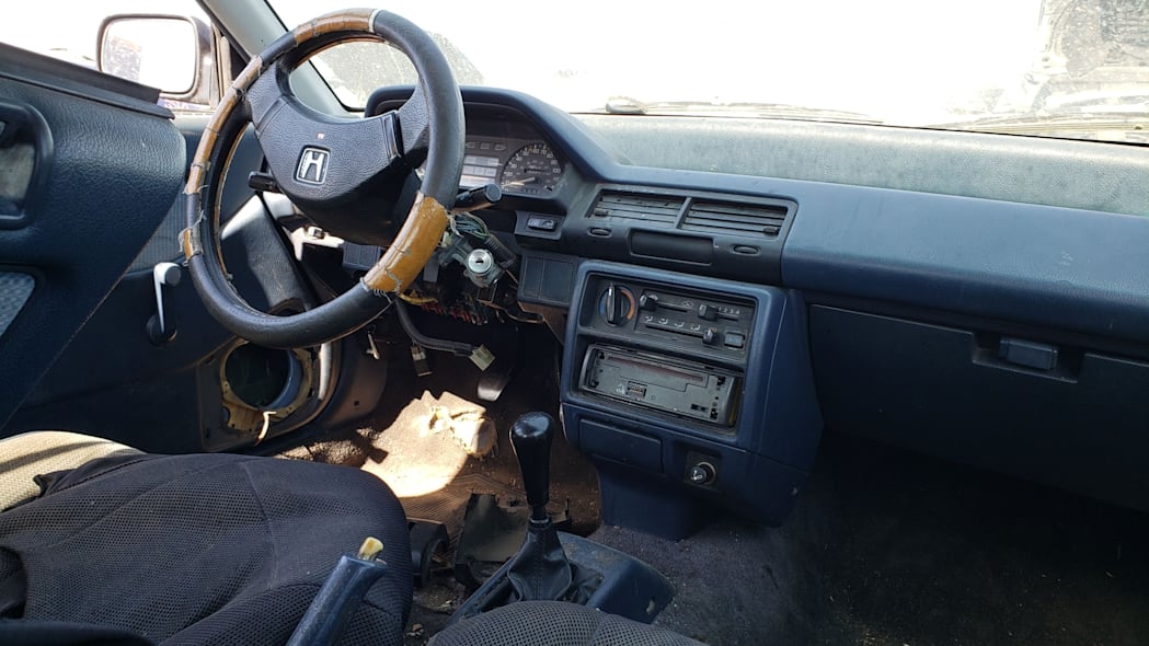 51 - 1989 Honda Civic in Colorado Junkyard - photo by Murilee Martin