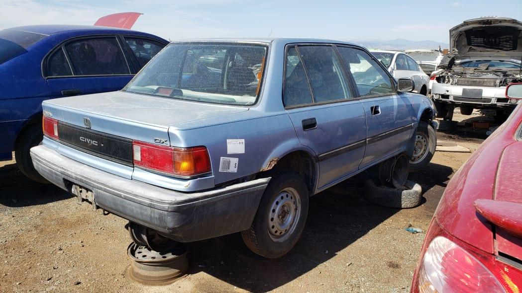 56 - 1989 Honda Civic in Colorado Junkyard - photo by Murilee Martin