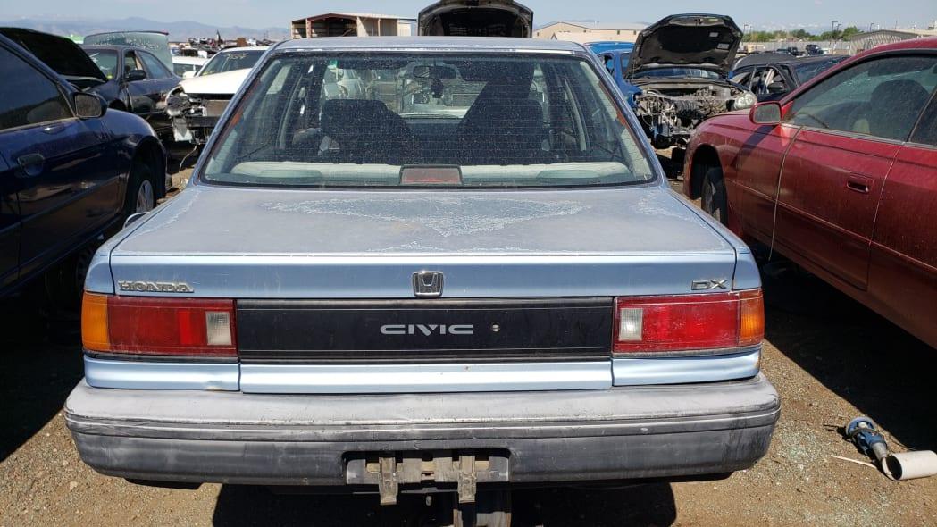 59 - 1989 Honda Civic in Colorado Junkyard - photo by Murilee Martin